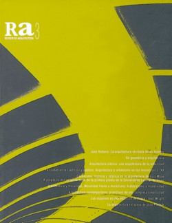 Ra 03 Revista de Arquitectura