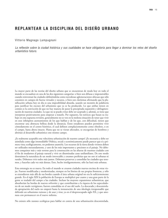 Ra 07 Revista de Arquitectura - Preview 3