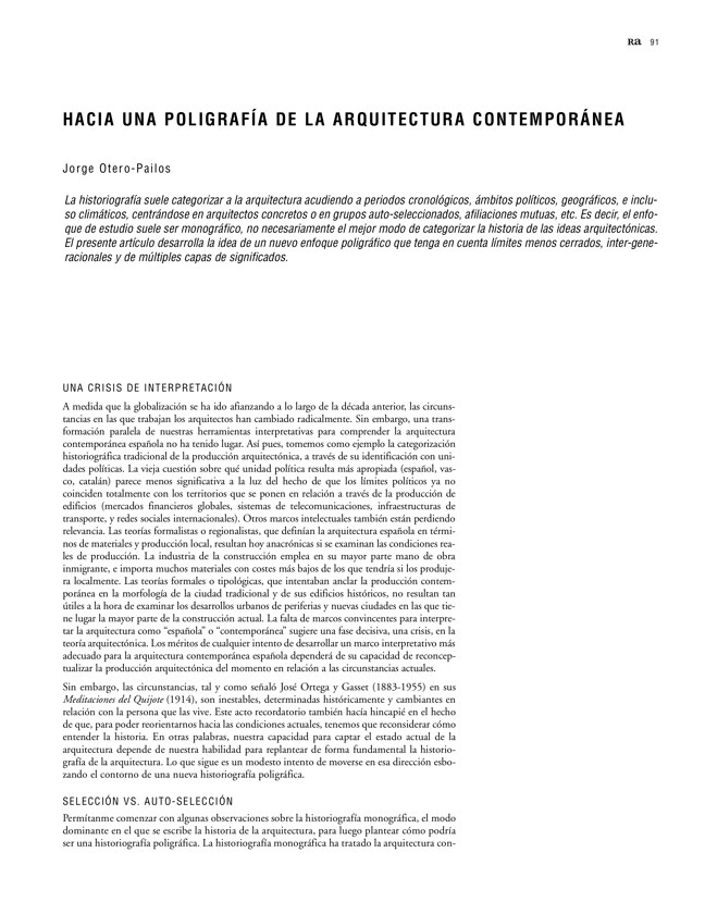 Ra 11 Revista de Arquitectura - Preview 21