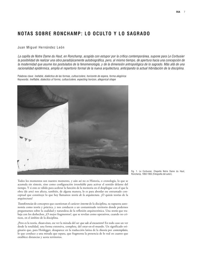 Ra 14 Revista de Arquitectura - Preview 3