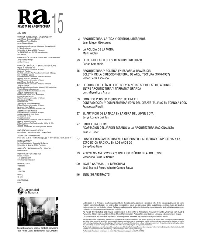 Ra 15 Revista de Arquitectura - Preview 1