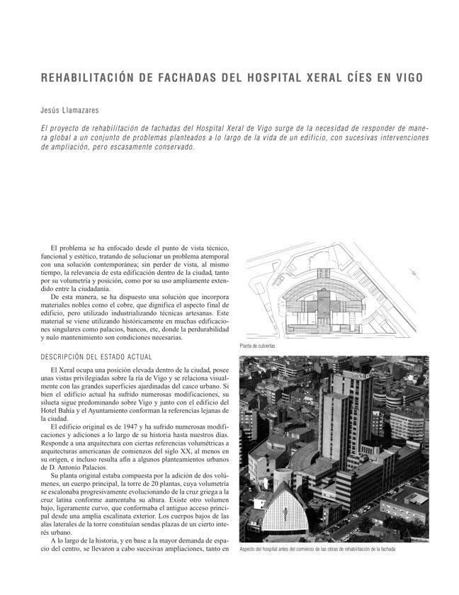 RE 33 Revista de Edificación EDIFICIO PARA LA CONSEJERÍA DE SALUD Y SERGAS - Preview 17