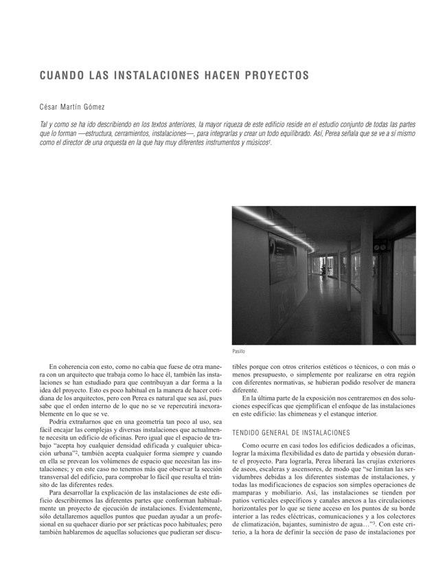 RE 33 Revista de Edificación EDIFICIO PARA LA CONSEJERÍA DE SALUD Y SERGAS - Preview 7