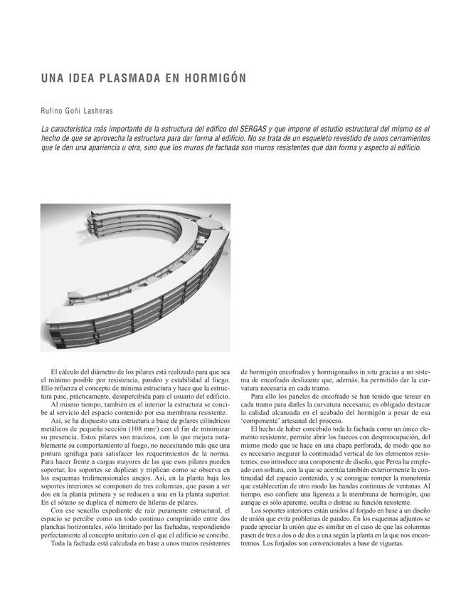 RE 33 Revista de Edificación EDIFICIO PARA LA CONSEJERÍA DE SALUD Y SERGAS - Preview 9