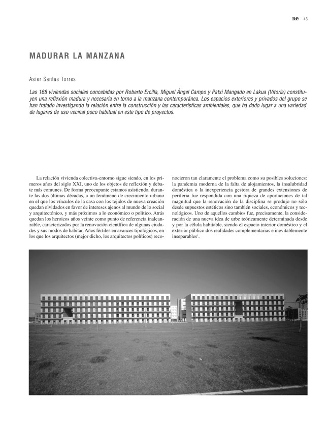 RE 34 Revista de Edificación BTC-ERICSSON. AH& ASOCIADOS - Preview 14