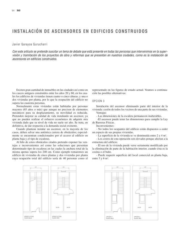 RE 34 Revista de Edificación BTC-ERICSSON. AH& ASOCIADOS - Preview 21
