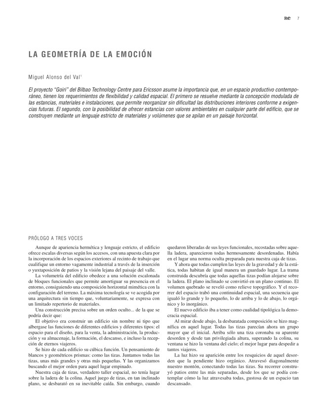 RE 34 Revista de Edificación BTC-ERICSSON. AH& ASOCIADOS - Preview 4