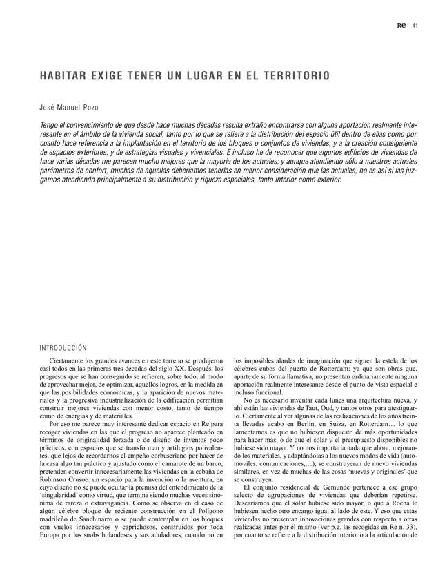 RE 35 Revista de Edificación PARLAMENTO DE NAVARRA - Preview 12