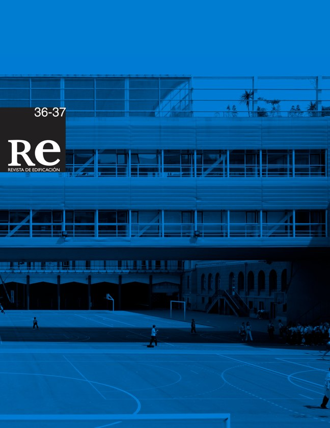 RE 36-37 I Revista de Edificación. Colegio Jesuitas de Indautxu