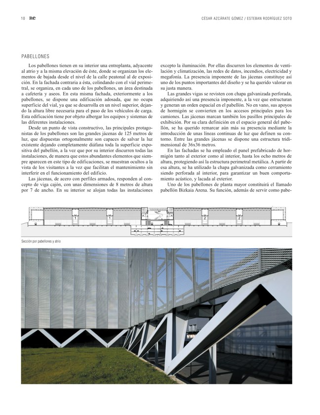 RE 38 Revista de Edificación BILBAO EXHIBITION CENTRE - Preview 4