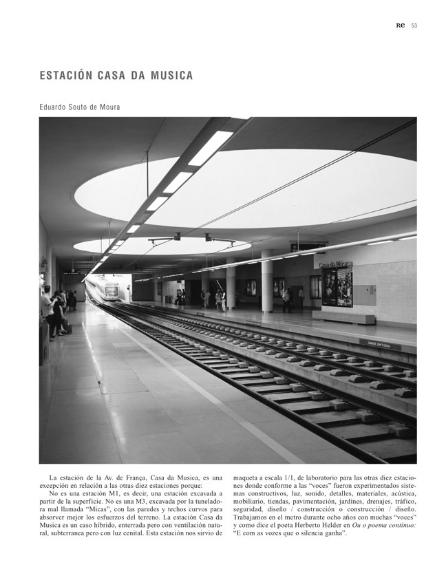 RE 39-40 Revista de Edificación METRO DE OPORTO - Preview 12
