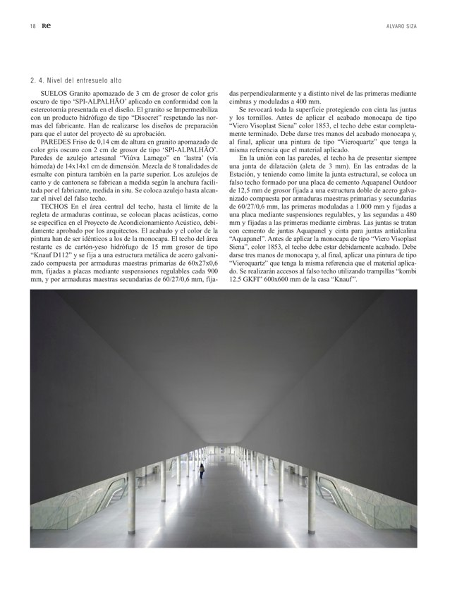 RE 39-40 Revista de Edificación METRO DE OPORTO - Preview 6