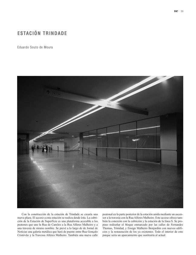RE 39-40 Revista de Edificación METRO DE OPORTO - Preview 9