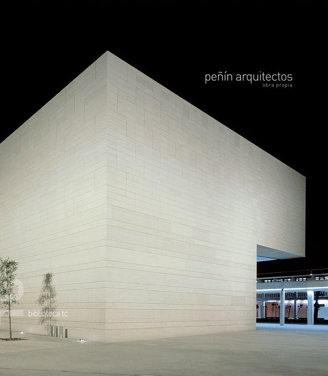 Peñín arquitectos obra propia · TC Biblioteca