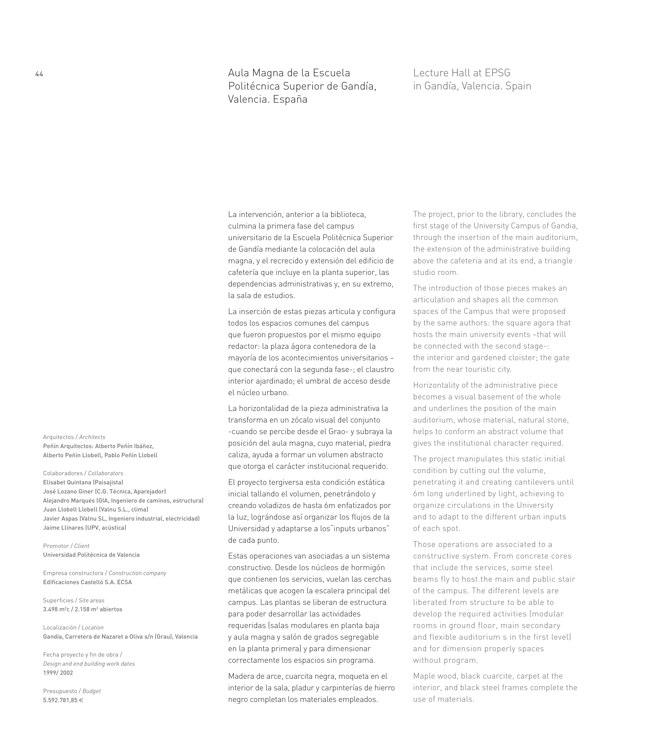 Peñín arquitectos obra propia · TC Biblioteca - Preview 9