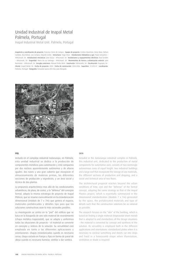 TC Cuadernos 111 MENOS É MAIS. FRANCISCO VIEIRA DE CAMPOS & CRISTINA GUEDES - Preview 22