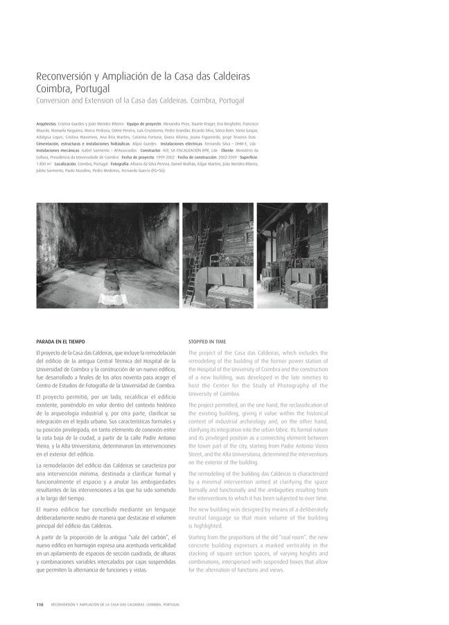 TC Cuadernos 111 MENOS É MAIS. FRANCISCO VIEIRA DE CAMPOS & CRISTINA GUEDES - Preview 24