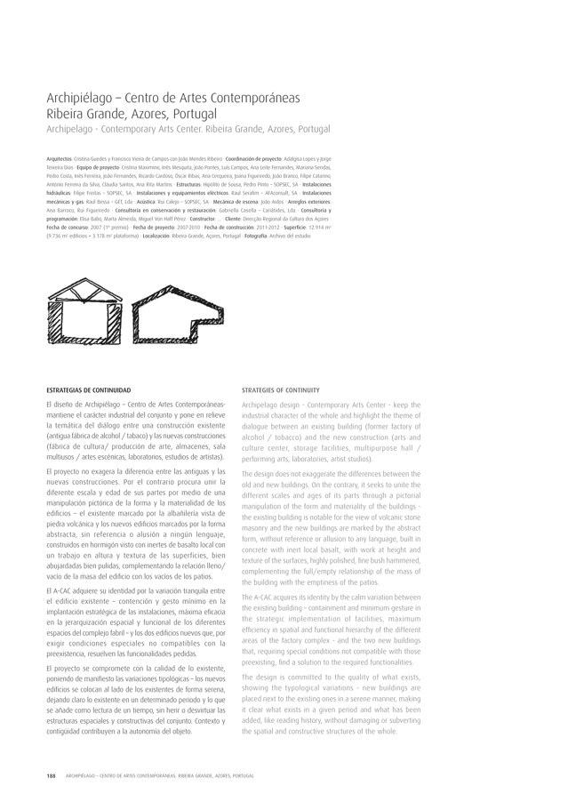 TC Cuadernos 111 MENOS É MAIS. FRANCISCO VIEIRA DE CAMPOS & CRISTINA GUEDES - Preview 39