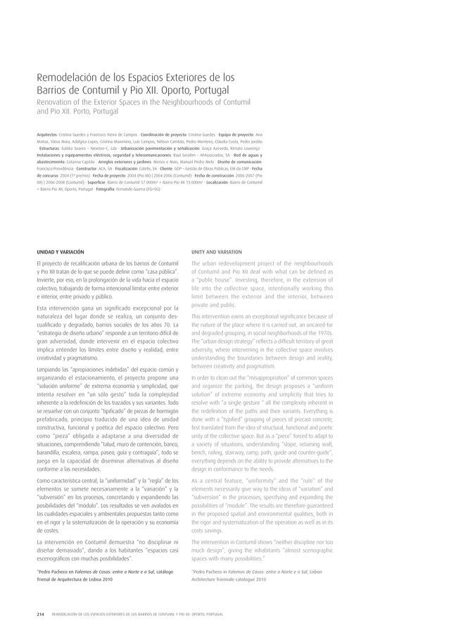 TC Cuadernos 111 MENOS É MAIS. FRANCISCO VIEIRA DE CAMPOS & CRISTINA GUEDES - Preview 42