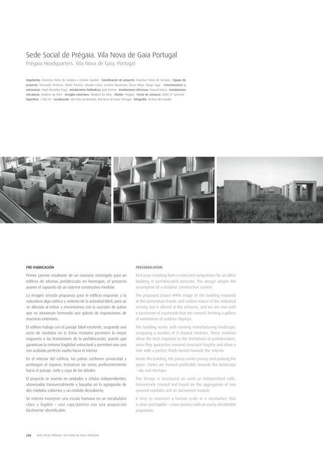 TC Cuadernos 111 MENOS É MAIS. FRANCISCO VIEIRA DE CAMPOS & CRISTINA GUEDES - Preview 46