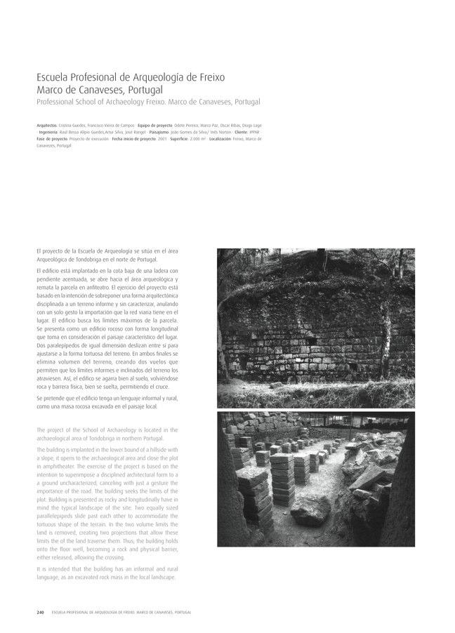 TC Cuadernos 111 MENOS É MAIS. FRANCISCO VIEIRA DE CAMPOS & CRISTINA GUEDES - Preview 51