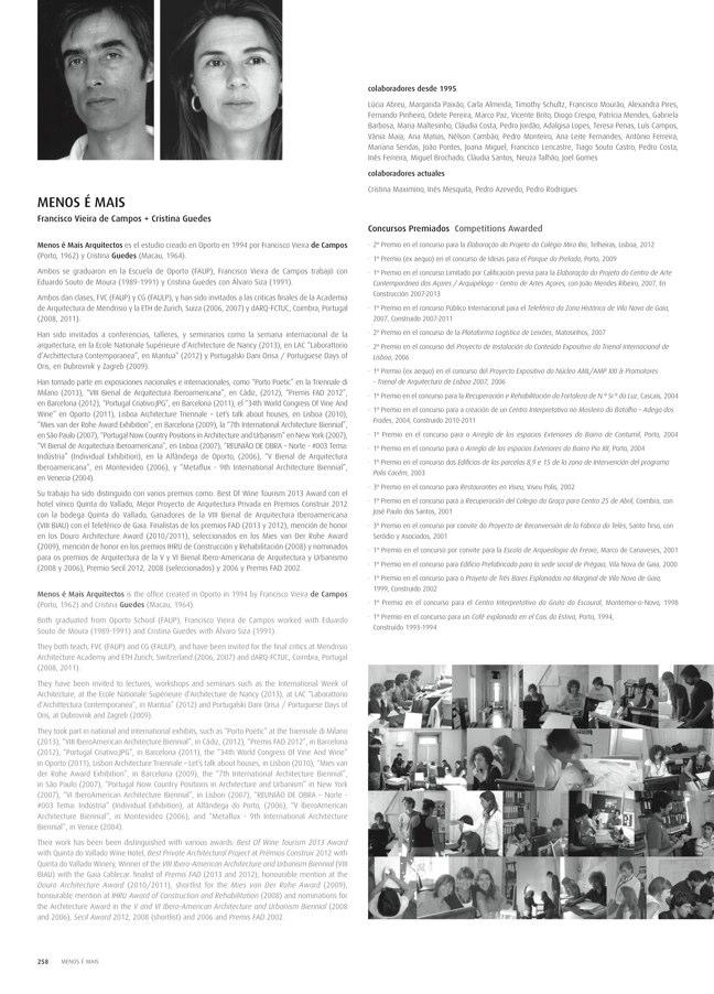 TC Cuadernos 111 MENOS É MAIS. FRANCISCO VIEIRA DE CAMPOS & CRISTINA GUEDES - Preview 55