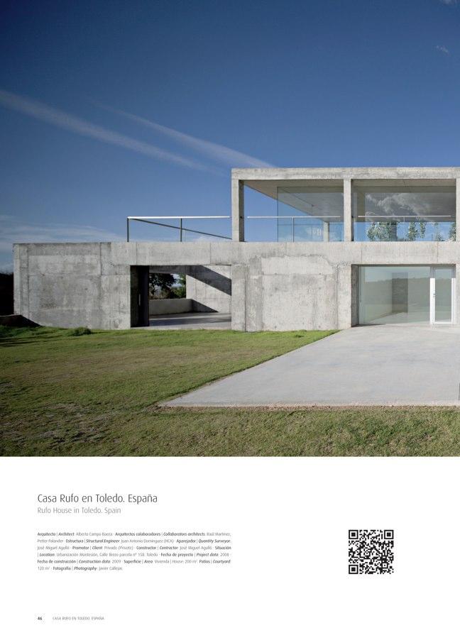TC Cuadernos 112 ALBERTO CAMPO BAEZA. ARQUITECTURA 2001-2014 - Preview 10