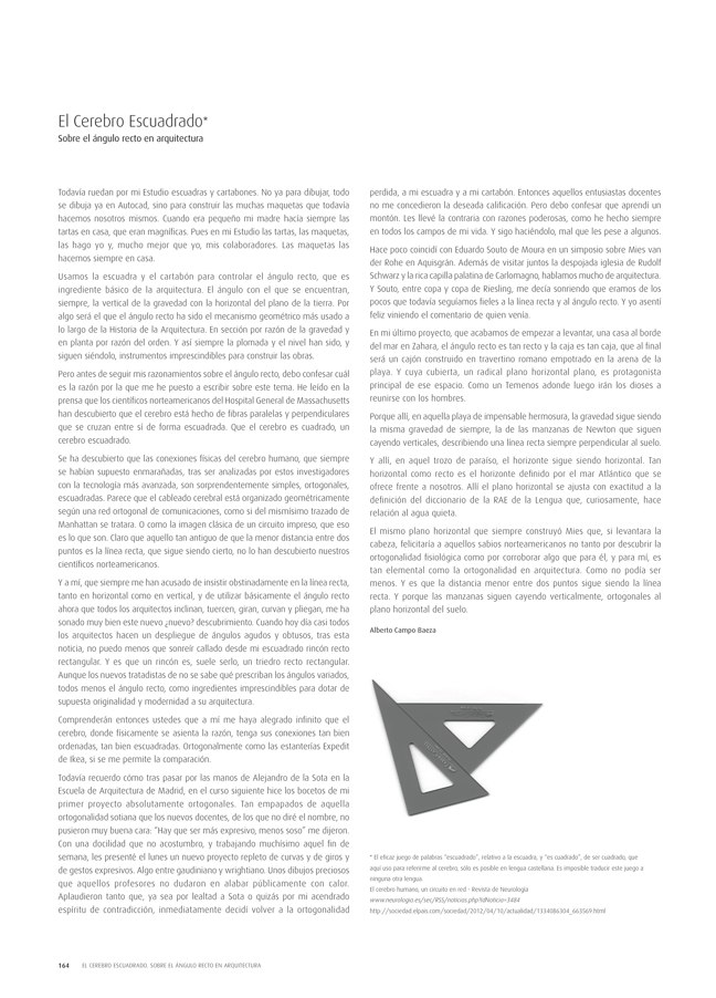 TC Cuadernos 112 ALBERTO CAMPO BAEZA. ARQUITECTURA 2001-2014 - Preview 39