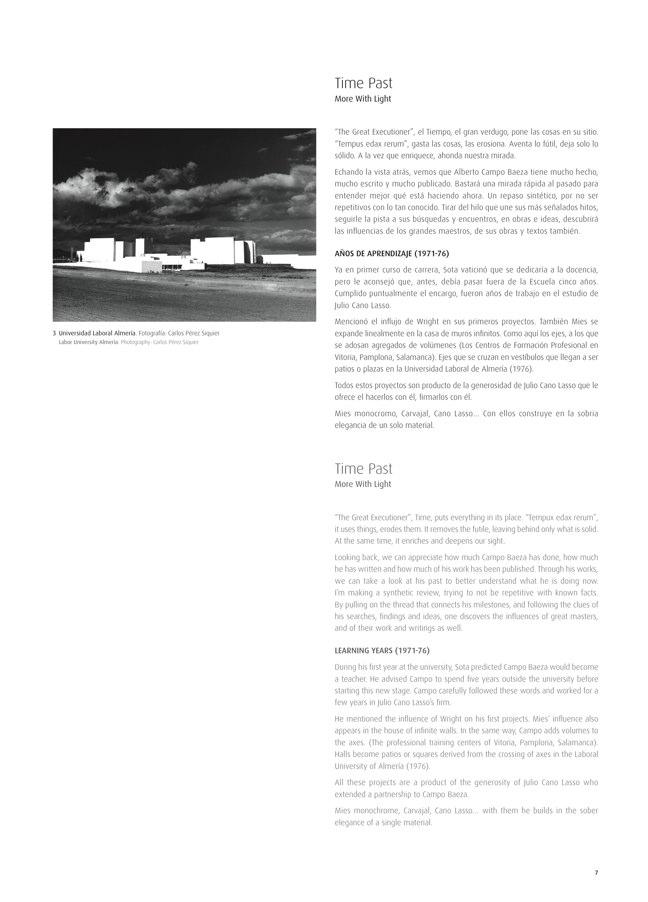 TC Cuadernos 112 ALBERTO CAMPO BAEZA. ARQUITECTURA 2001-2014 - Preview 3