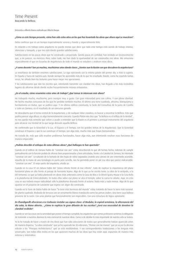 TC Cuadernos 112 ALBERTO CAMPO BAEZA. ARQUITECTURA 2001-2014 - Preview 4