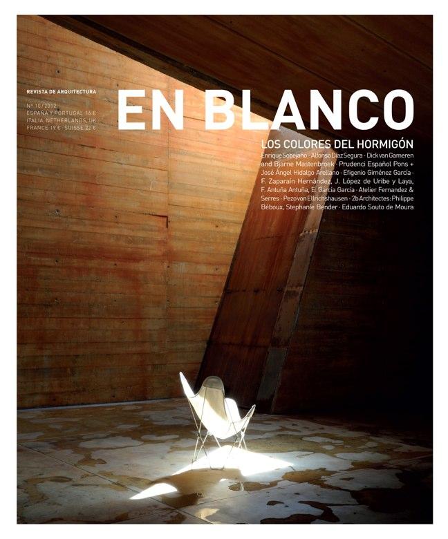 En Blanco 10 LOS COLORES DEL HORMIGÓN / CONCRETE COLORS
