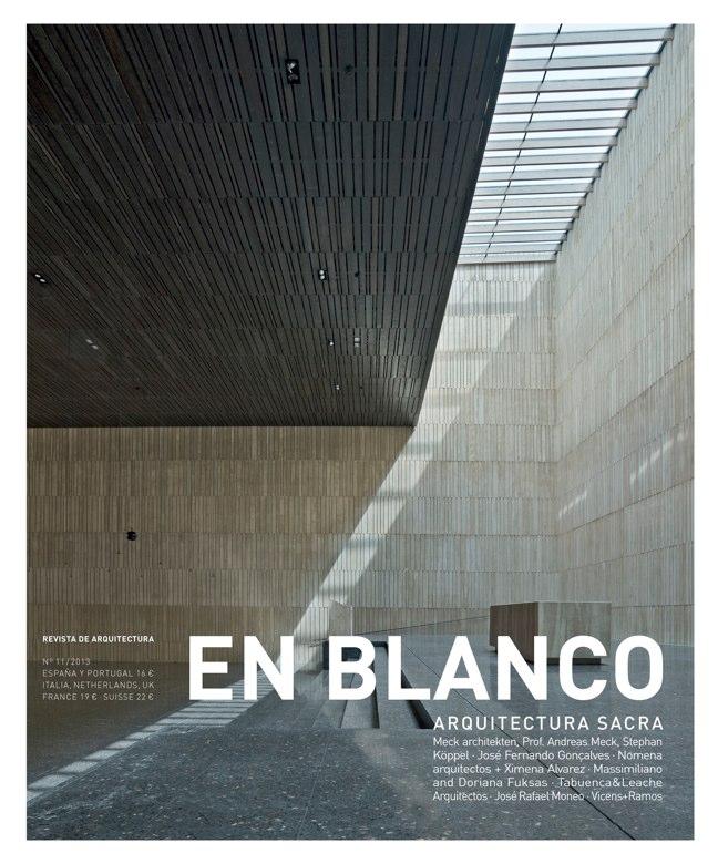 En Blanco 11 ARQUITECTURA SACRA I SACRED ARCHITECTURE
