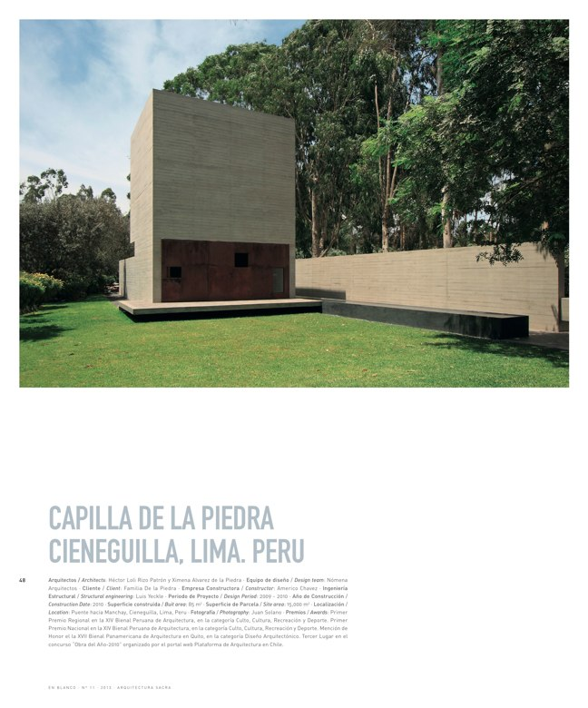 En Blanco 11 ARQUITECTURA SACRA I SACRED ARCHITECTURE - Preview 12