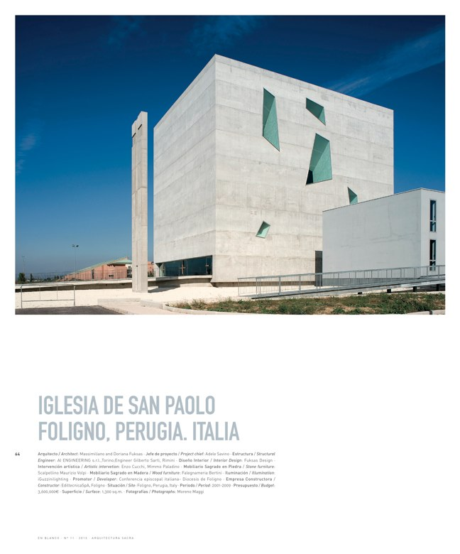 En Blanco 11 ARQUITECTURA SACRA I SACRED ARCHITECTURE - Preview 15