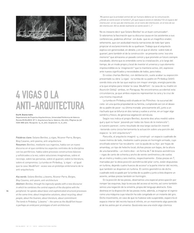 En Blanco 11 ARQUITECTURA SACRA I SACRED ARCHITECTURE - Preview 7