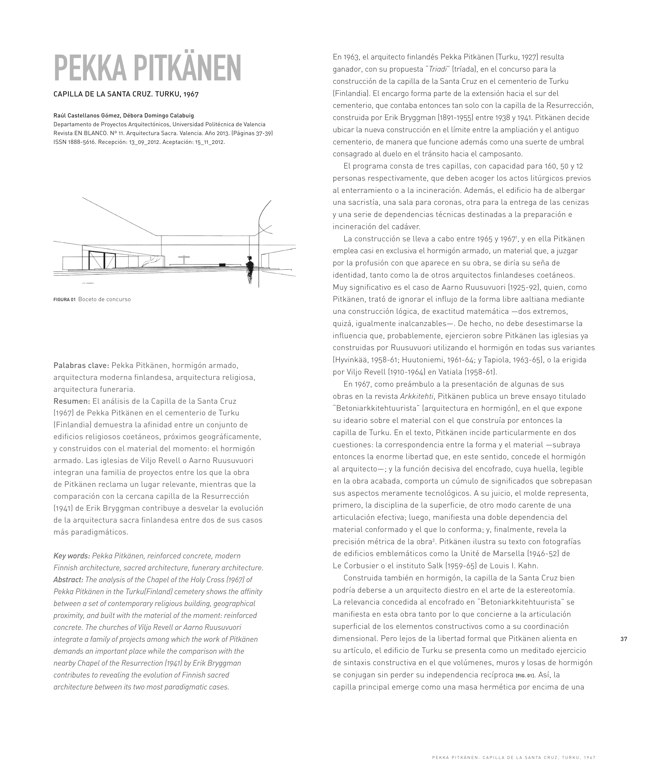 En Blanco 11 ARQUITECTURA SACRA I SACRED ARCHITECTURE - Preview 8