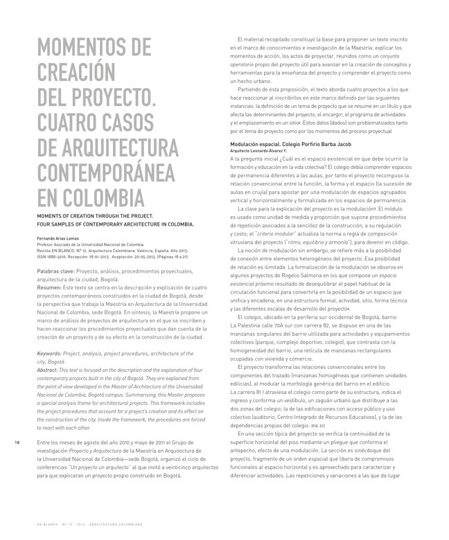 En Blanco 12 I Arquitectura Colombiana - Preview 4