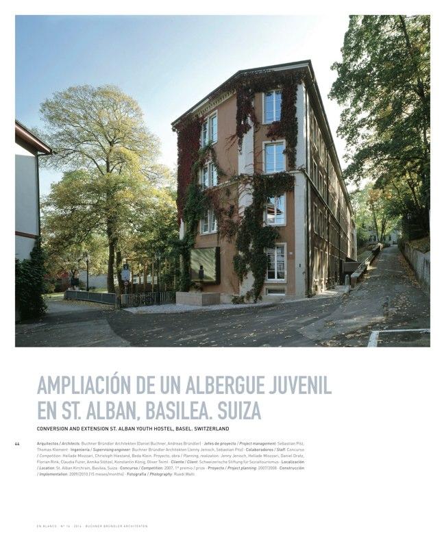 En Blanco 16 BUCHNER BRÜNDLER ARCHITEKTEN - Preview 11