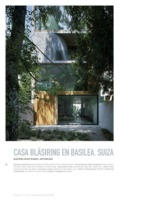 En Blanco 16 BUCHNER BRÜNDLER ARCHITEKTEN - Preview 13