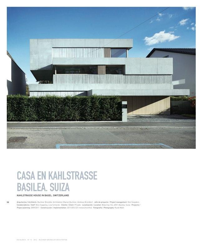 En Blanco 16 BUCHNER BRÜNDLER ARCHITEKTEN - Preview 16