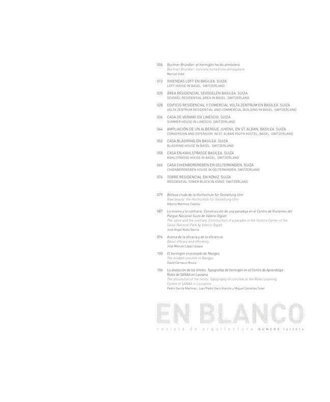 En Blanco 16 BUCHNER BRÜNDLER ARCHITEKTEN - Preview 1