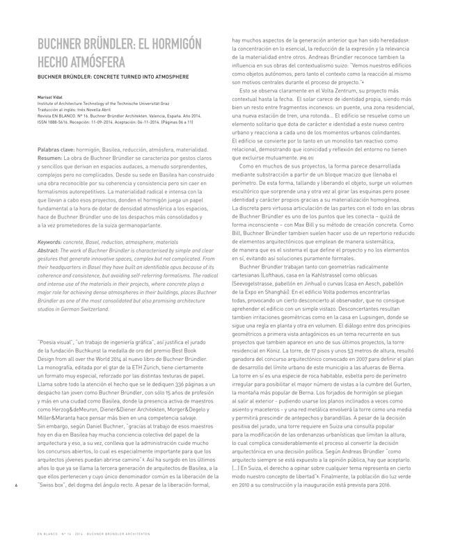 En Blanco 16 BUCHNER BRÜNDLER ARCHITEKTEN - Preview 2
