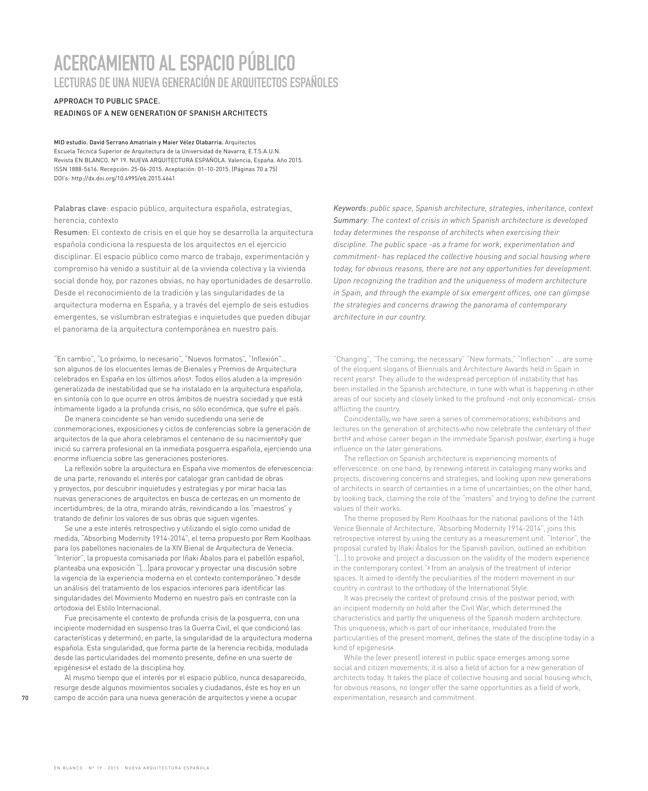 EN BLANCO 19 Nueva Arquitectura Española - Preview 10