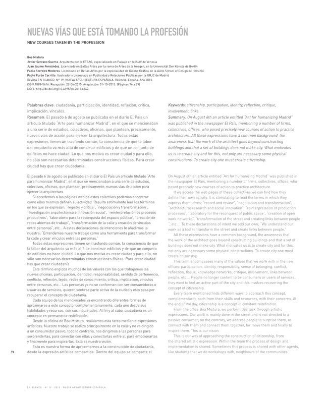 EN BLANCO 19 Nueva Arquitectura Española - Preview 11