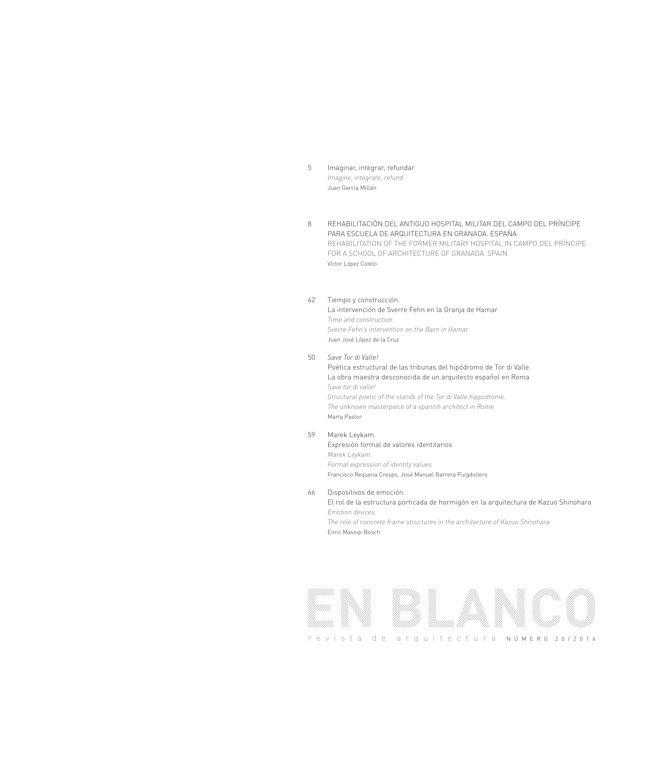 EN BLANCO 20 Víctor López Cotelo - Preview 1