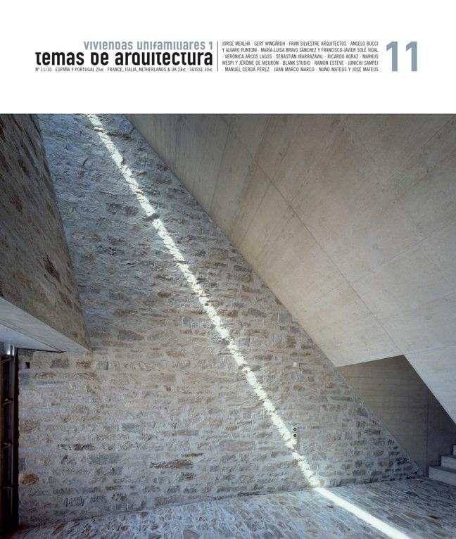 Temas de Arquitectura 11 Viviendas Unifamiliares 1