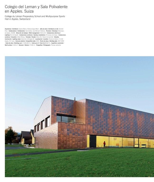 Temas de Arquitectura 15 Arquitectura ESCOLAR 7 - Preview 8
