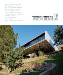 Temas de Arquitectura 16 VIVIENDAS UNIFAMILIARES 2