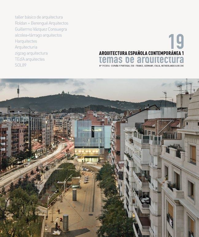 Temas de Arquitectura 19 Spanish Contemporary Architecture