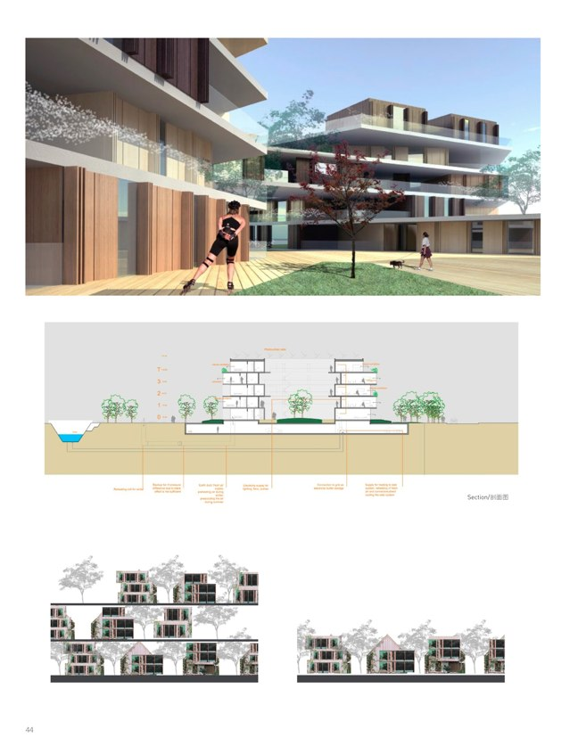 Architecture of Apartments in the World (Chinese Name: 全球公寓建筑设计) - Preview 10